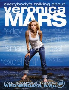 veronica mars television poster