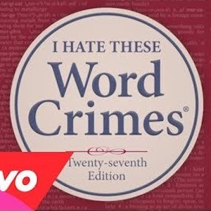 Weird Al Word Crimes