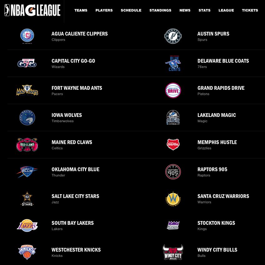 The G League